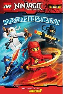 LEGO Ninjago: Maestros de Spinjitzu (Lector No. 2) (Spanish Edition)