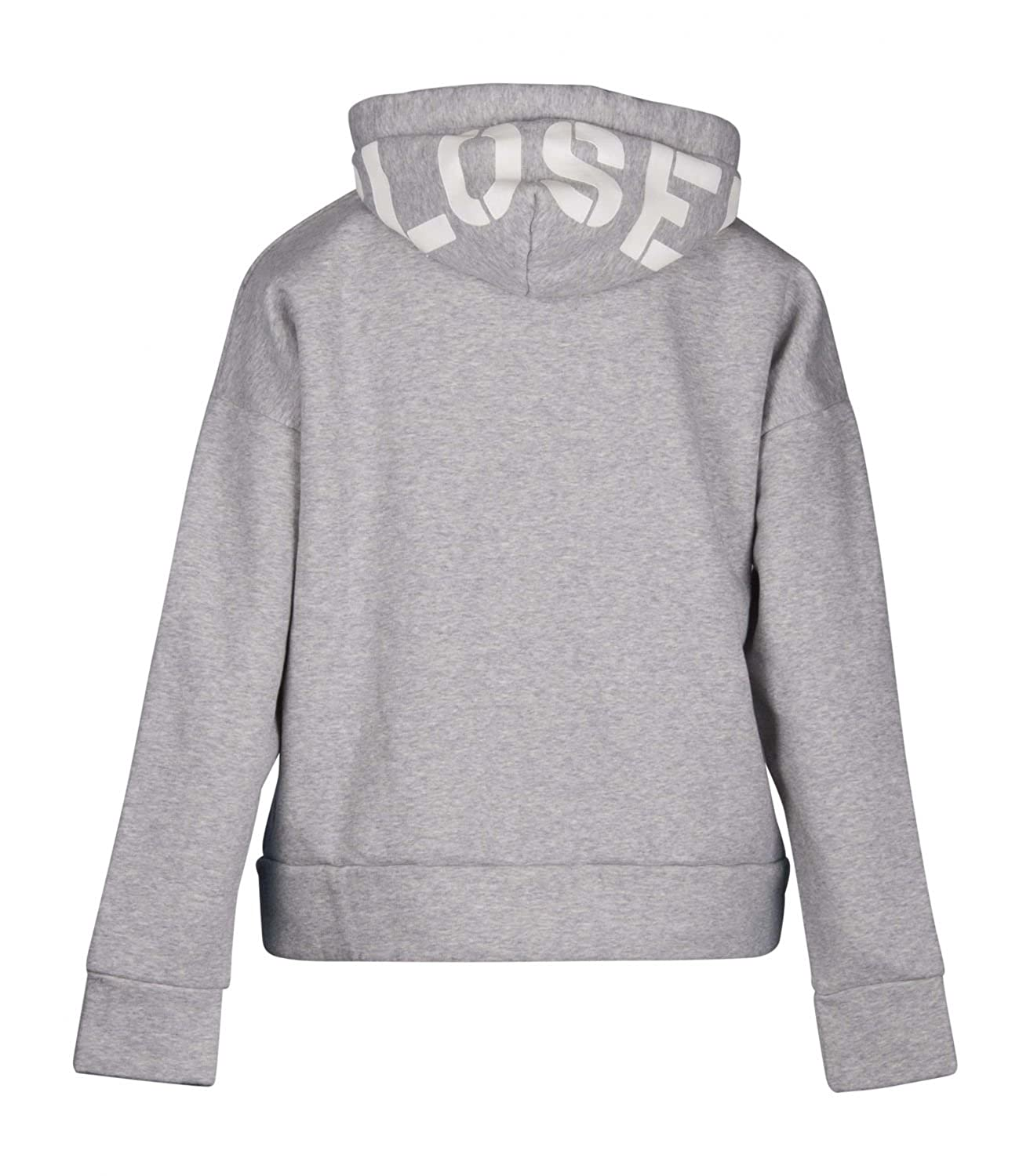 quality design 1cbdc 7dbbe CLOSED Damen Hoodie C95893 grau - S: Amazon.de: Bekleidung