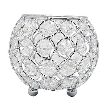 Amazoncom Joynest Crystal Tea Light Candle Lantern Holders