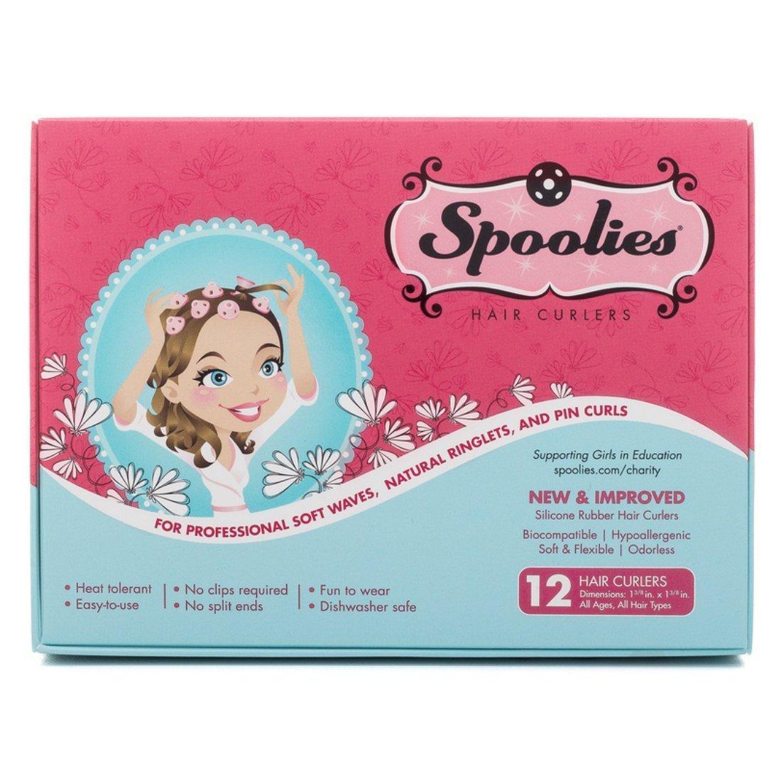 Spoolies Hair Curlers - 12 Count