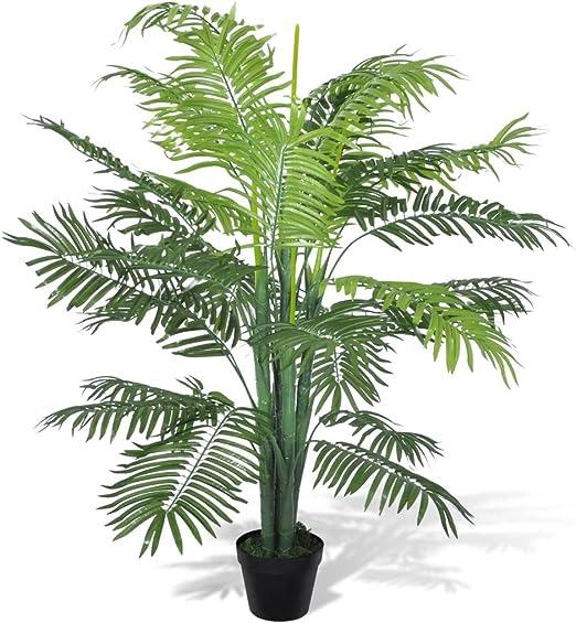 vidaXL Palmera Phoenix Artificial en Maceta 130 cm Planta Artficial Decorativa: Amazon.es: Jardín