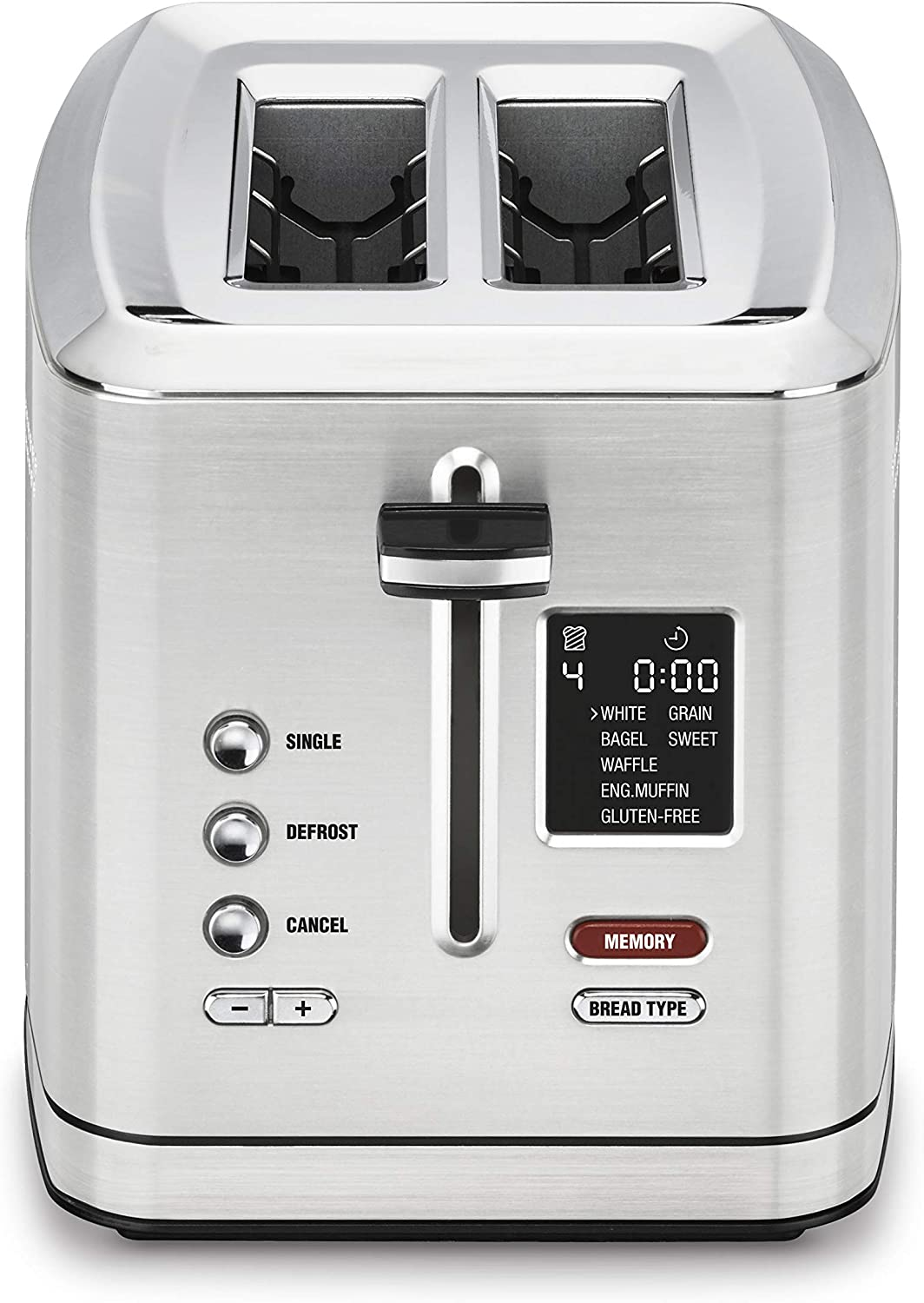 Cuisinart CPT-720 2-Slice Digital Toaster with MemorySet Feature, silver