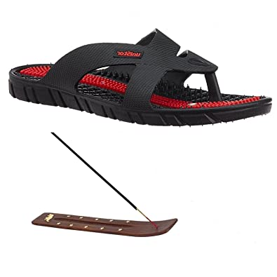 d95cdde2ccad Super India Store Unisex Acupressure Slippers Sandals For Pain ...