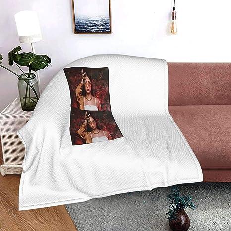 le lit le canap/é le bureau Eva Queen Couverture 2 en 1 pratique et chaude avec imprim/é /él/égant pour la maison