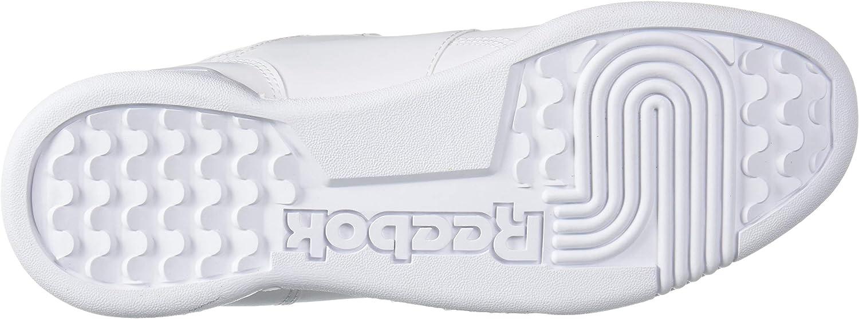 Reebok Workout Plus Sneaker White/Skull Grey/Red/Black