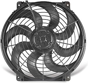 "Flex-a-lite 392 S-Blade Black 12"" Electric Fan"