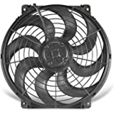 Flex-a-lite 11224 Black 12 24V Reversible Electric Fan