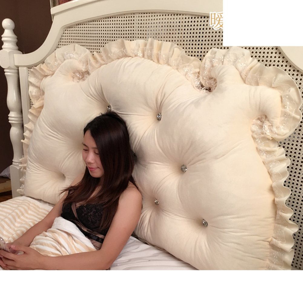 HDSGFDSHGK Bedside double core pillow children's tatami long pillow soft bag backrest cushion back cushion big cushion on the bed-E 120x70x15cm(47x28x6inch)