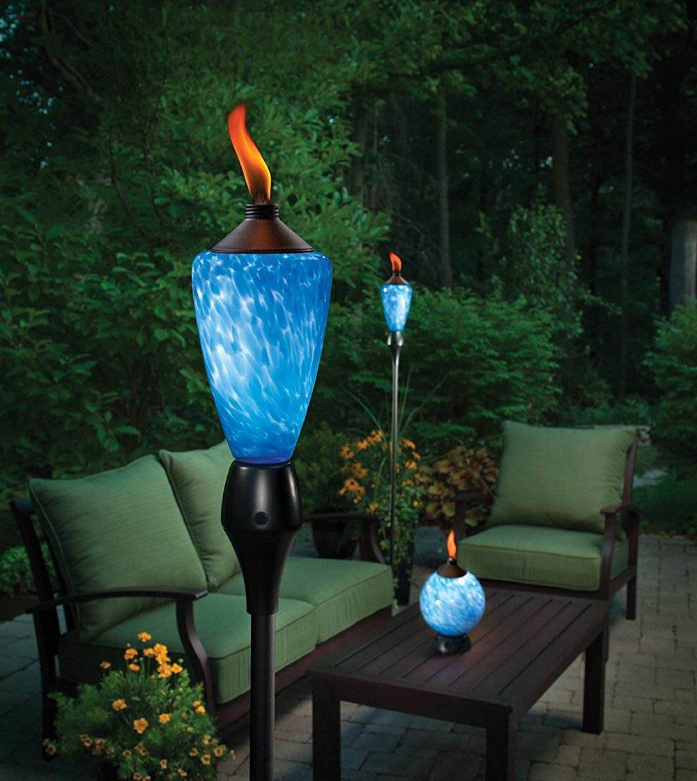 Mechas de repuesto Zeato de fibra de vidrio para antorchas al aire libre Tiki, linterna de botella de vino o lámpara de aceite, 12 unidades, grandes de 1,2 ...