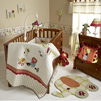 Mamas Papas Jamboree Baby Bedding Set 4 Piece