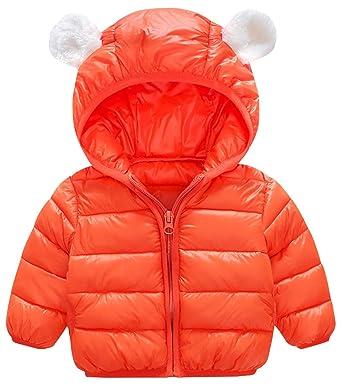 0b1a1a779361 Amazon.com  Happy Cherry Unisex Kids Lightweight Down Cotton Cute ...