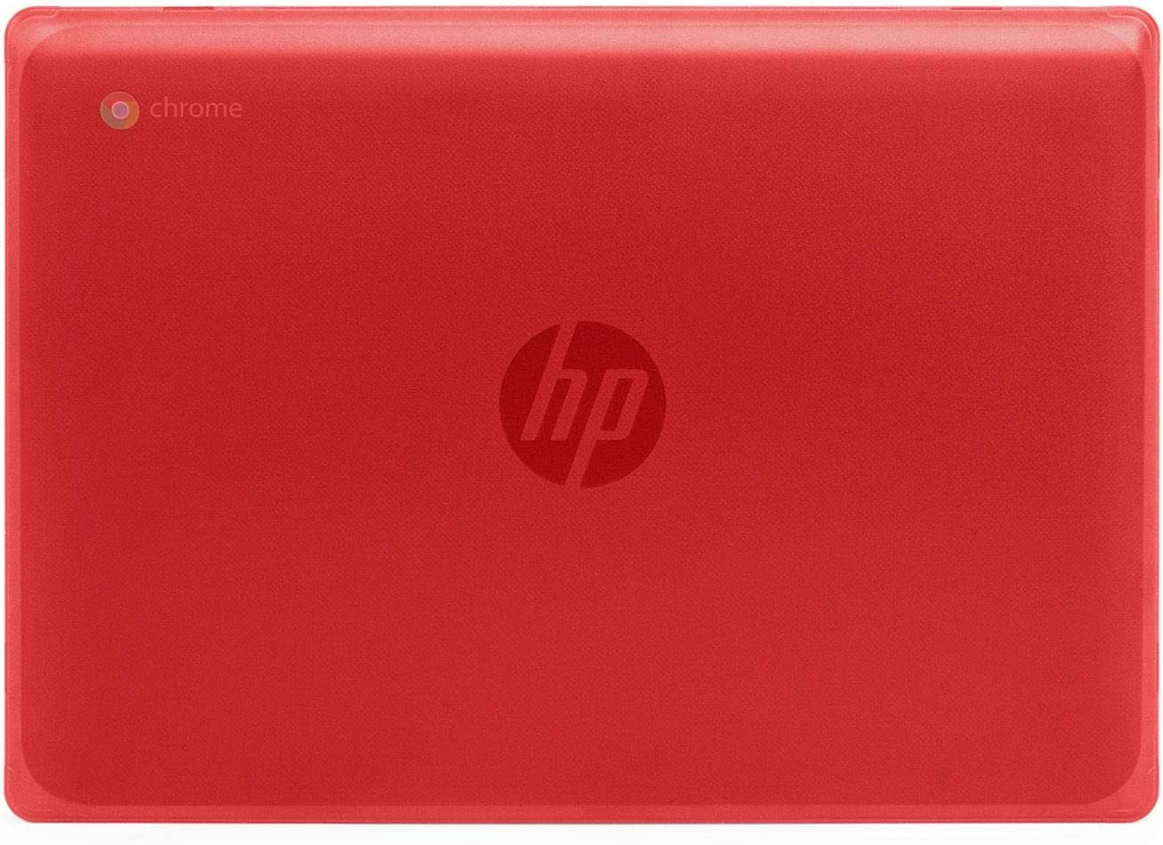 "mCover Hard Shell Case for New 2020 11.6"" HP Chromebook 11 G8 EE laptops (Red)"