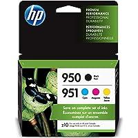 HP 950 & 951 | 4 Ink Cartridges | Black, Cyan, Magenta, Yellow | CN049AN, CN050AN, CN051AN, CN052AN