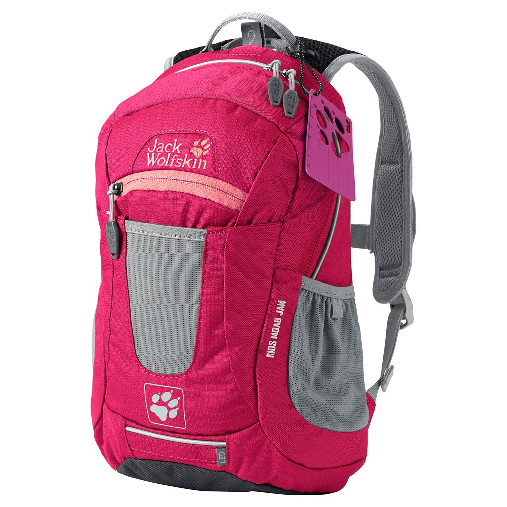 Amazon.com: Jack Wolfskin Kids Moab Jam Basic Backpack, Azalea Red: Sports & Outdoors