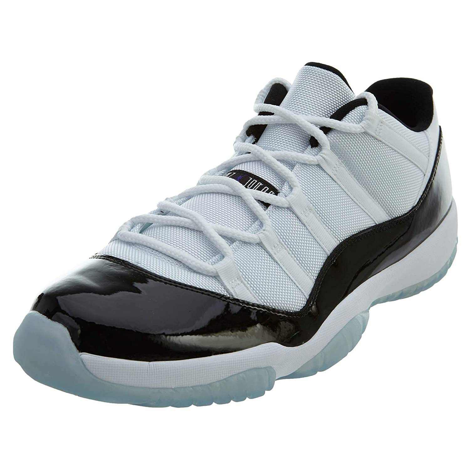 White   Black-Dark Concord Jordan Air Jordan 11 Retro Low Big Kids