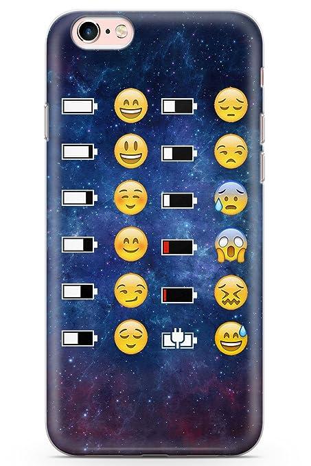 competitive price 6ed42 acace Amazon.com: Case Warehouse iPhone 6 Case, iPhone 6s Emoji Battery ...