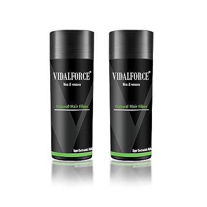 VidalForce Paquete De Fibras Capilares (Set de 2)