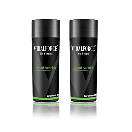 VidalForce Pack Fibras Capilares 2uds x 27,5g / Gris Oscuro /