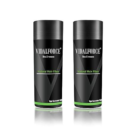 VidalForce Pack Fibras Capilares 2uds x 27,5g / Castaño Medio/