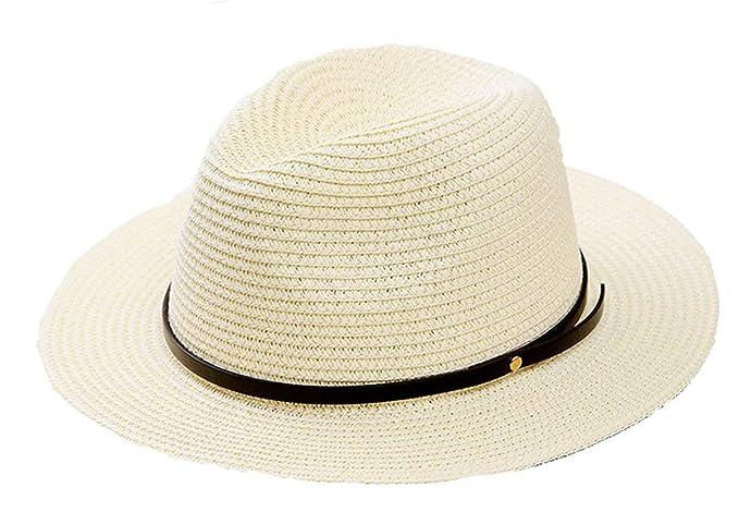 Sombrero Sombrero De Paja Hombres Sombrero De Verano Sombrero De Clásico  Cosecha Sombrero Sombrero De Sol Unisex Sombrero De Panamá Sombreros De  Panamá ... 529296286c8