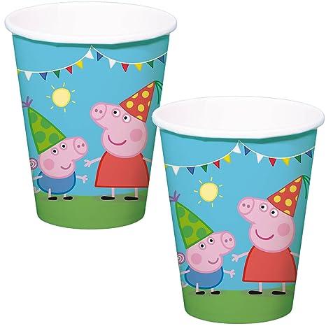 Speelgoed 8 Vasos de Fiesta de cumpleaños para niños * * de ...