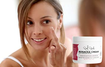 Rosacea Treatment cream - Best Advanced Redness Relief Healing Moisturizer  - Natural and