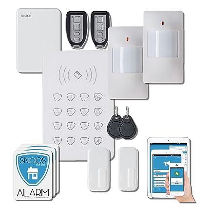 Snoos (TM) - Calidad Europea de alarma cámara IP sistema de ...