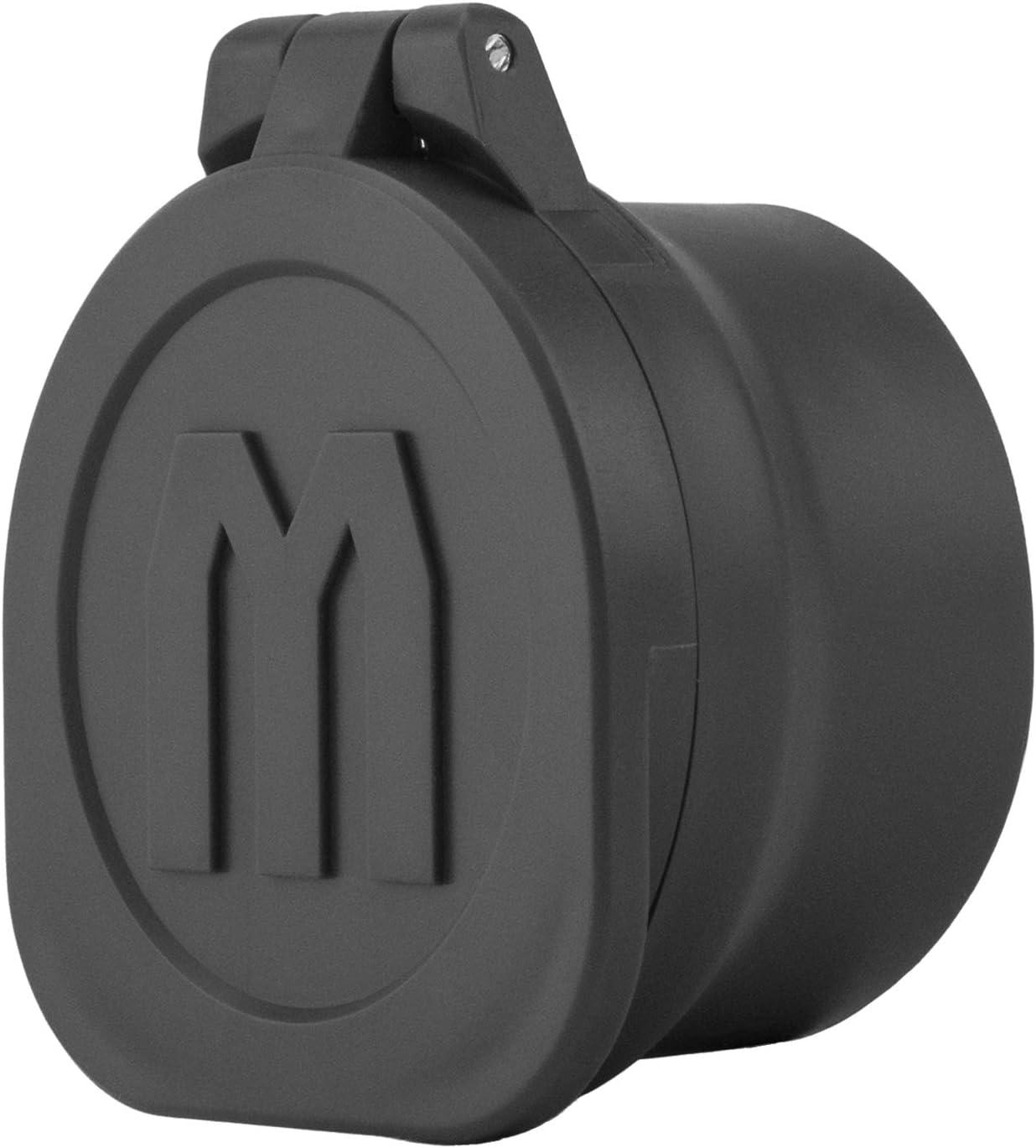 5. Monstrum Rubberized Flip-Up Rifle Scope Lens Covers