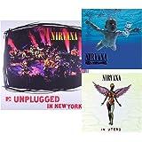 Nevermind - In Utero - MTV Unplugged - Nirvana 3 Vinyl LP Bundling - 180 gram incl. MP3 Download