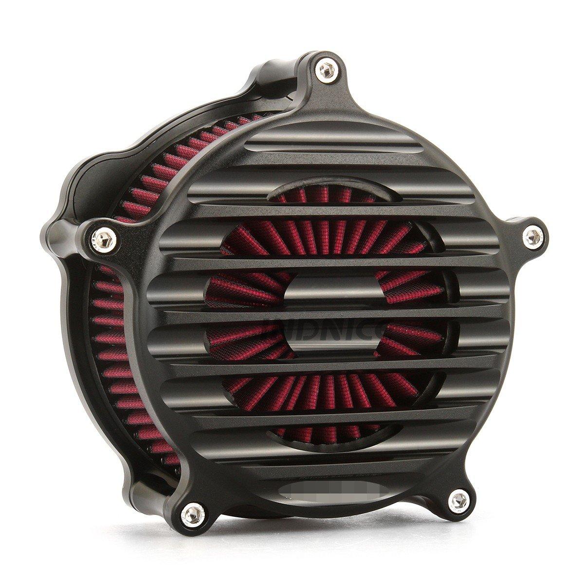 CNC Black RSD Nostalgia Venturi Air Cleaner for harley sportster xl883 1200 air filters sportster 883 1991-2018   B07DDC3R71