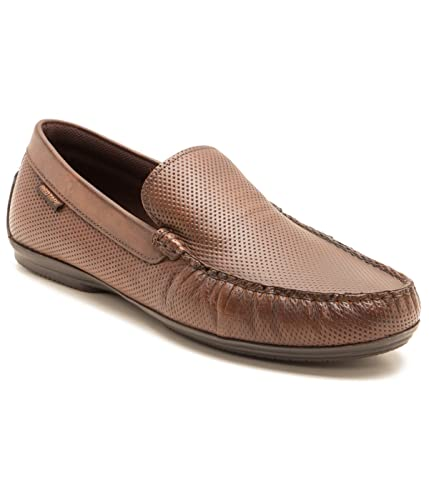 4ee14122f27b40 Red Tape Men's Tan Leather Loafers - 9 UK/India (43 EU): Buy Online ...