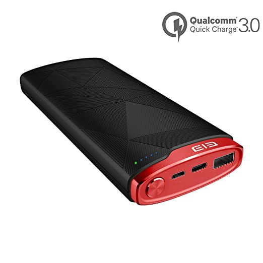 iphone quick charge. amazon.com: mgcool 16000mah portable charger qualcomm quick charge 3.0 power bank, usb-c / type-c port, backwards compatibility, external battery pack for iphone