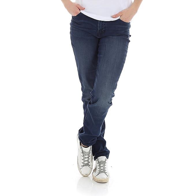 Armani 9063Y Pantalone Donna Emporio Slim FIT Denim Jeans ...