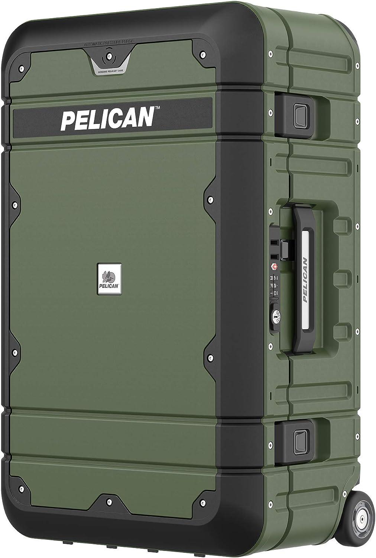 Pelican Elite equipaje | equipaje de mano (BA22 – 22 pulgadas) – OD verde/negro (Renewed): Amazon.es: Electrónica
