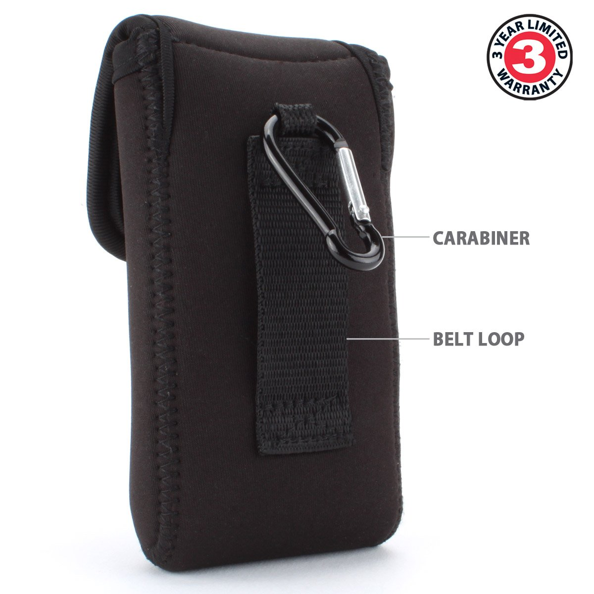USA Gear Portable Handheld GPS Carrying Case w  Carabiner Clip- Works for  Garmin nüvi 2475LT  aa86abf4c15