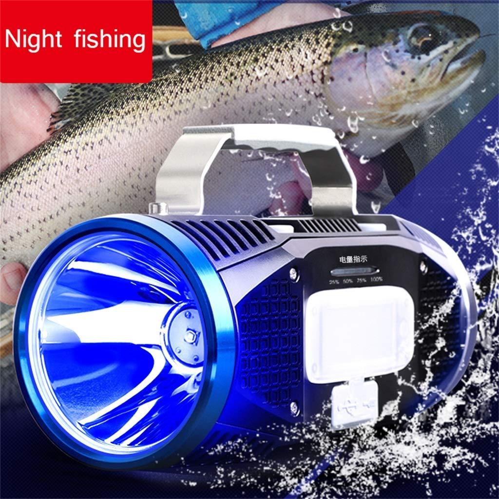 FTD Continuous Continuous Continuous Licht Fischen, Blaulicht Nacht Seite Köder Lampe Xenon Taschenlampe USB Aufladung Draussen Laternen Long Service Life B07PKPXN9V | Deutschland Shop  72d32b