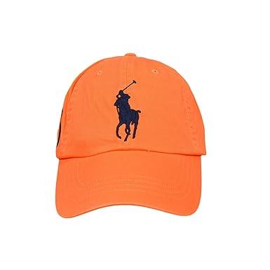Ralph Lauren - Polo Gorra - Orange Peel: Amazon.es: Ropa y accesorios