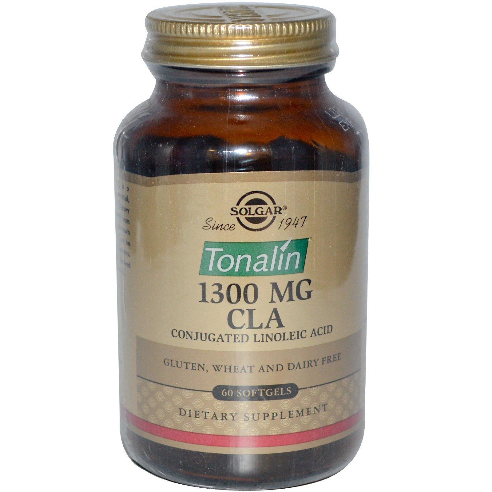 Solgar, Tonalin CLA, 1300 mg, 60 Softgels - 2pc