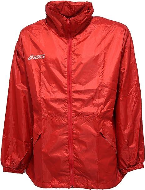 Asics 9520V Giubbotto Antipioggia Uomo Red Rain Jacket Man