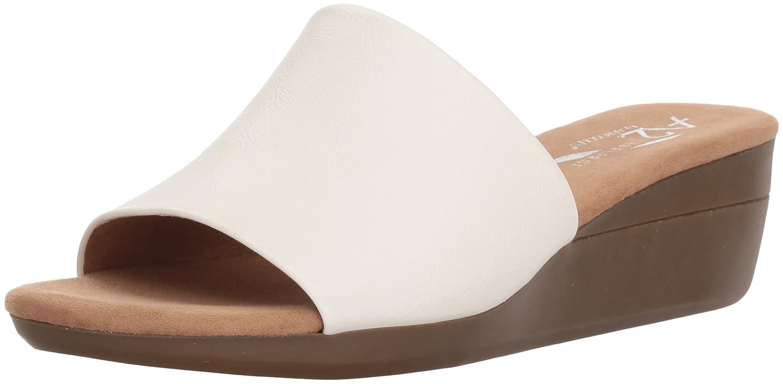 Aerosoles Women's Sunflower Slide Sandal B078WFCTQ1 12 B(M) US|White