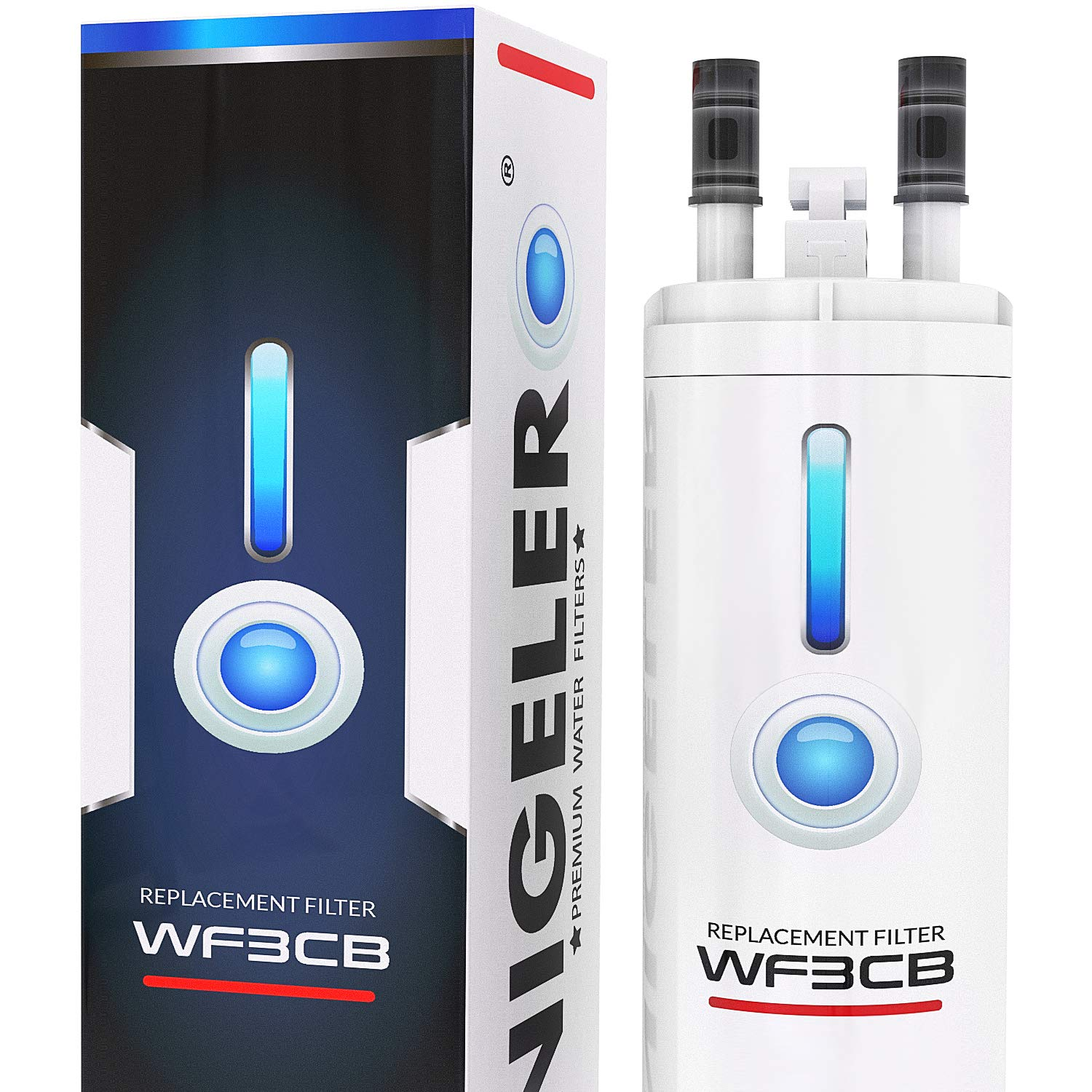 Frigidaire WF/3CB Compatible Refrigertor Water Filter by NIGELERO (1-Pack)