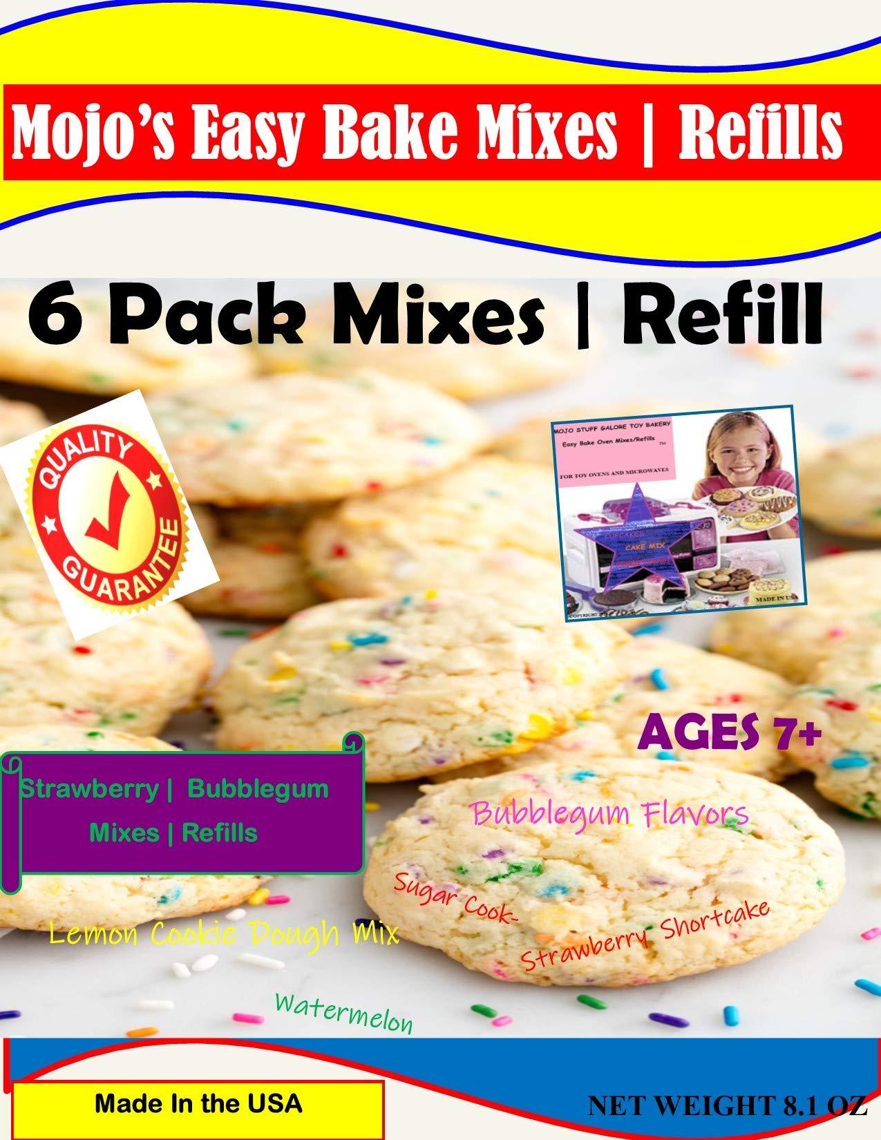 Mojo Stuff Galore Easy Bake Refill Super Pack Net WT 15.5OZ (360g) by Mojo Stuff Galore