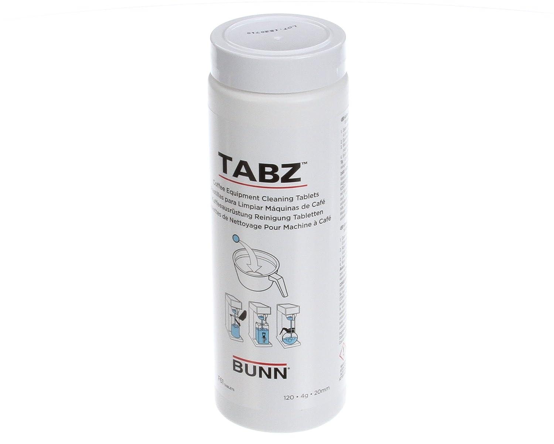 Bunn 39637.0000 Cleaner, Brewer Tabz