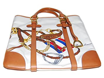 312731efaa41 Image Unavailable. Image not available for. Color  Polo Ralph Lauren Purple  Label Equestrian Tote Bag ...