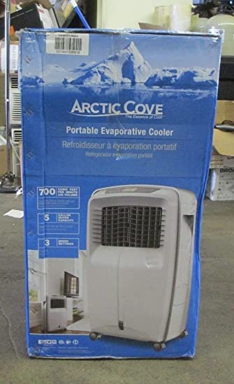 Arctic Cove 700 CFM 3 Speed Portable Evaporative Cooler For 500 Sq. Ft.