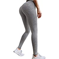 LINKE Tik Tok leggings voor dames, hoge taille, sexy yogabroek