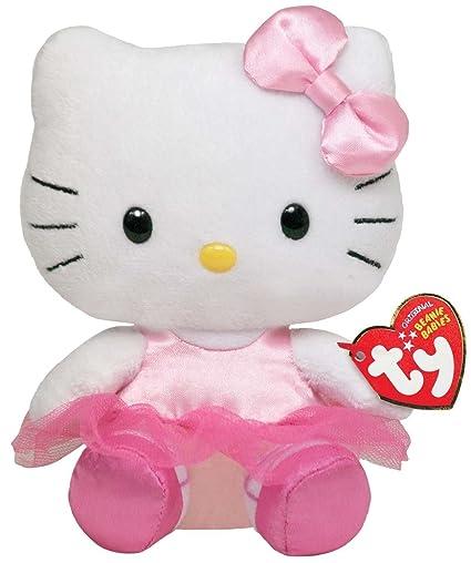 Amazon.com  Ty Beanie Baby Hello Kitty - Ballerina  Toys   Games d76056132c9