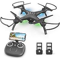 Attop Quadcopter Drone with Remote Control (Black)