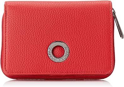 Mandarina Duck Mellow Leather, Cartera. para Mujer, Rojo (Flame Scarlet), 3x10x14 Centimeters (W x H x L)