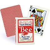 Bee Playing Cards No.92 Standard Index Single Deck (red back)